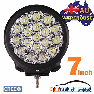 Pair 7Inch 180W Cree Led Driving Work Lights Spot Offroad 4Wd Replace Hid & Bar
