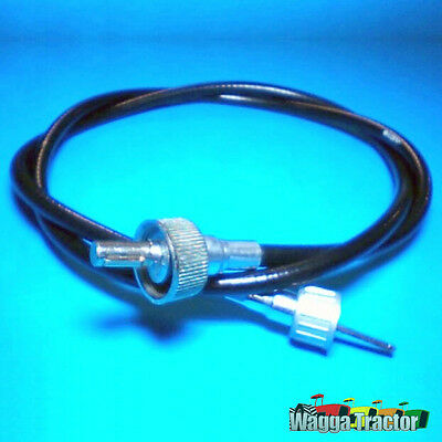 TCB2665 Tacho Cable David Brown 885 995 Tractor w 7/8in thread at Engine