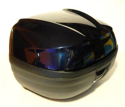 SALE SHAD SH37 Piaggio X10 Top case Kit - With Blue Cover