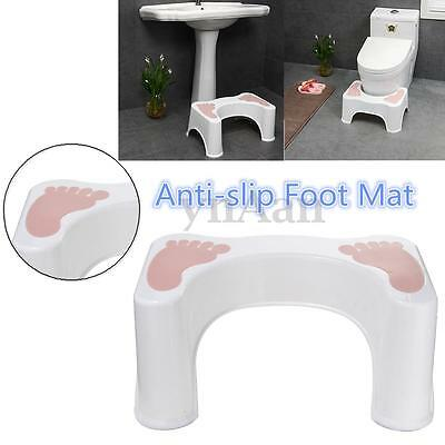 Toilet Step Squatty Stool Natural Potty Squat Aid For Constipation Piles Relief