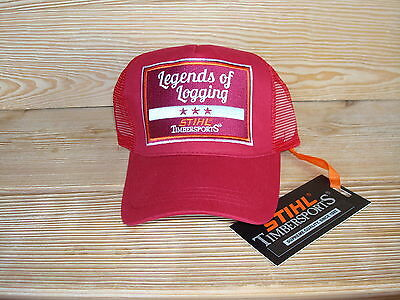 STIHL TIMBERSPORTS Trucker Cap //  Legends of Logging  //