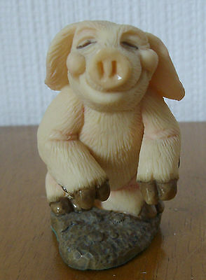 Collectible Worlds Piggins ~ Piggin' Plastered 1993 ~ Unboxed