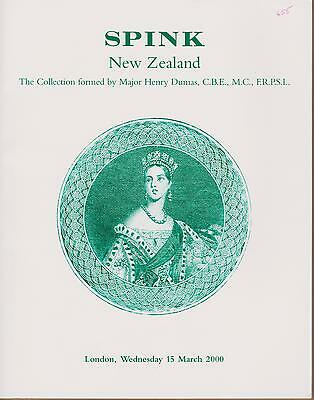 "Auction Catalogue – The ""Dumas"" New Zealand++++"