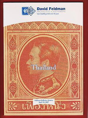 AUCTION CATALOGUE – SPECIALISED THAILAND with ROYAL MAIL