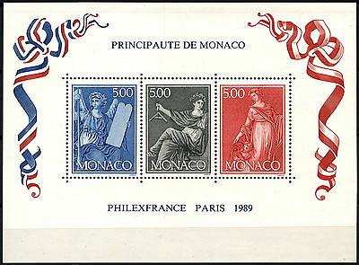 Monaco 1989 SG#MS1963 Princess Grace MNH M/S #D40620
