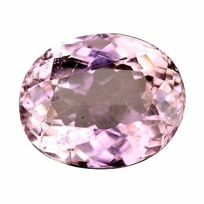 4.120 Cts Marvelous Stunning Luster Pink Natural Kunzite Oval Loose Gemstones
