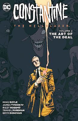 constantine the hellblazer book 2 the art of the deal  tpb  dc comics (2016)