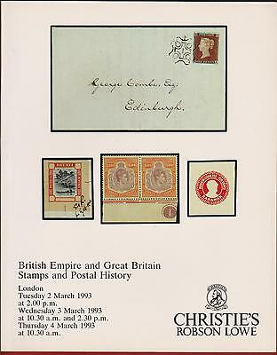 Auction Catalogue – Great Britain. & British Empire