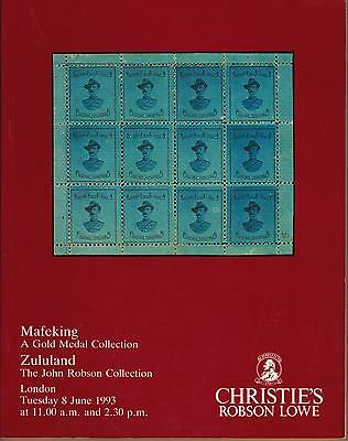 Auction Catalogue – Gold Medal Mafeking & Zululand+++