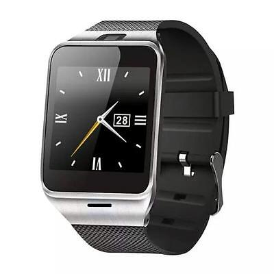 GV18 Smart Bluetooth Watch GSM NFC Camera TF Card Wristwatch for iPhone Samsung
