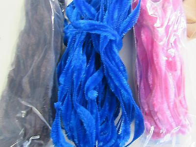 3 Vintage Jay Brand Figure Bump Chenille  18 Yards In Each