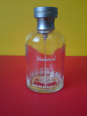 ORIGINAL Collectable empty perfume bottle of Weekend by Burberry. Mint condition