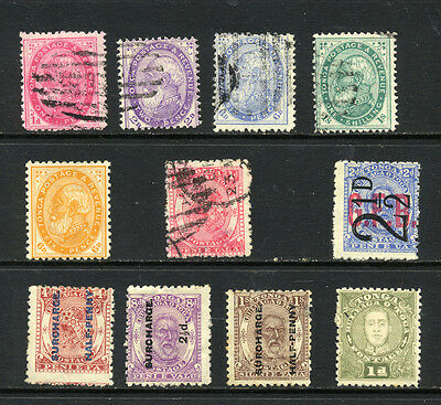 TONGA , 5 x stamps fine used , 6 x mounted mint