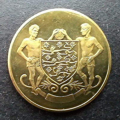 ESSO 1972 FA Cup Final coin medal - Leeds United v Arsenal