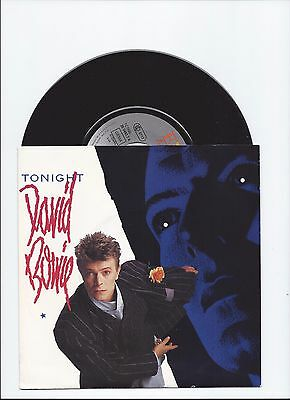 David Bowie Original Single Tonight From Germany