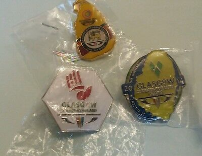 Glasgow 2014 Commonwealth Games Collectors Pin Badges