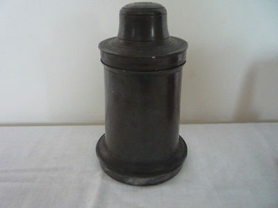Country House Kitchen Antique Pewter Ice Cream Mould Mold Kitchenalia