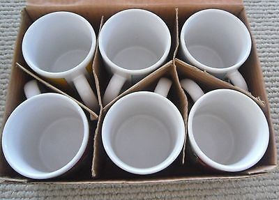 Set of Six Popeye Mugs New in Original Box