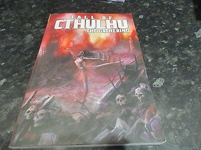 paperback graphic novel fall of cthulu the gathering
