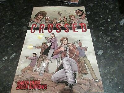 paperback graphic novel  crossed volume 1 garth ennis collects first series