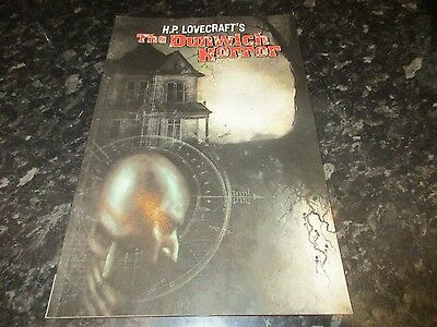 paperback graphic novel h p lovecraft the dunwich horror