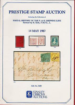 Auction Catalogue – P/history Of P&o Shipping Line+++