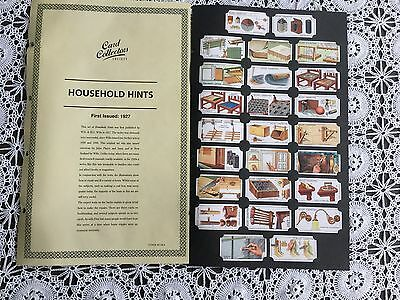 Collectors Society Wills Household Hints  Reproduction Set