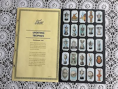 Collectors Society Churchmans Sporting Trophies Reproduction Set