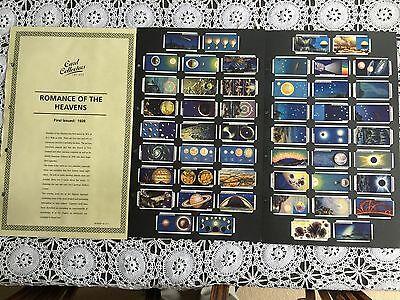 Collectors Society Wills Romance of the Heavens Reproduction Set