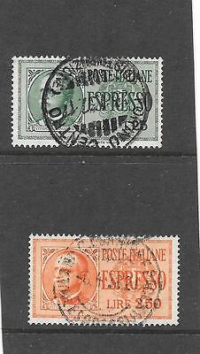 Italy  (Express Post  Stamps  1932 ) Used