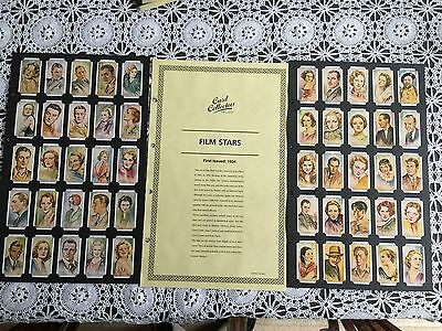 Collectors Society Players Film Stars Reproduction Set