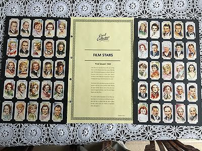 Collectors Society Players Film Stars (2nd Series) Reproduction Set