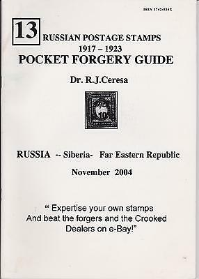 Russia Postage Stamps 1917-23 Forgery Guide, Siberia, Far Eastern Rep.
