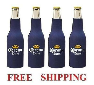 Corona Extra 4 Bottle Huggie Cooler Coozie Coolie Koozie New