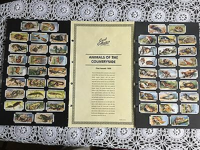 Collectors Society Players Animals of the Countryside Reproduction Set
