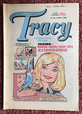 Tracy Comic For Girls. No. 36. 7 June 1980. Fn+ Condition.