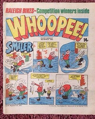 Whoopee  Comic 6 March  1982. Vfn Lovely Condition.