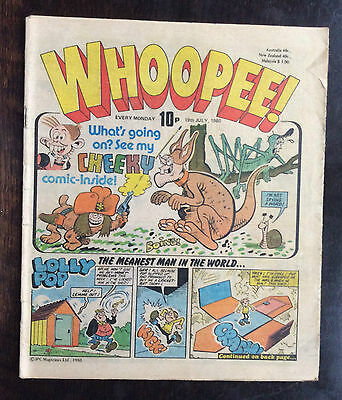 Whoopee Comic. 19 July 1980. Fn+ Condition. (1