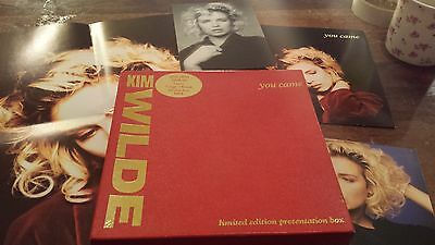 "Kim Wilde - You Came 7"" Ltd Edition Box --Includes Poster,postcards-Kimb8"