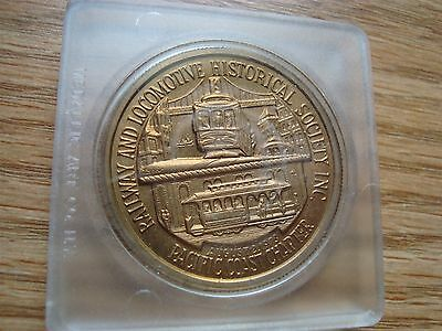 Vintage Cable Car Centennial Pacific Coast Chapter Token Medal Lot #1