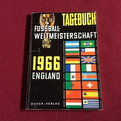 1966 WORLD CUP in ENGLAND FOOTBALL BOOK FROM GERMANY