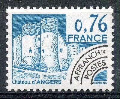 Stamp / Timbre France Neuf Preoblitere N° 166 ** Chateau D'angers