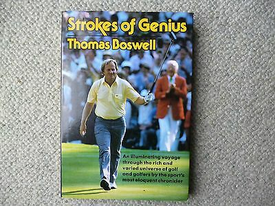 Strokes of Genius  Super golf book by Thomas Boswell