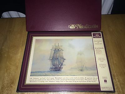 Nauticalia Ocean Explorers David C Bell Placemats HMS Bounty RRS Discovery.....