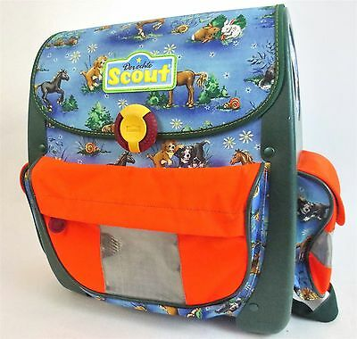 Stunning DERECHTE SCOUT Animal Backpack School Bag Made in Germany