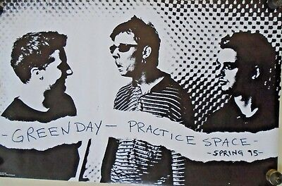 Green Day / Orig.Vintage Poster - Practice Space - #6500 / Exc. new cond. 22x34""