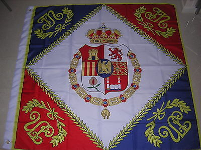 Joseph Napoleon Napoleonic Regimental Colours France Standard Ensign 120X120cm