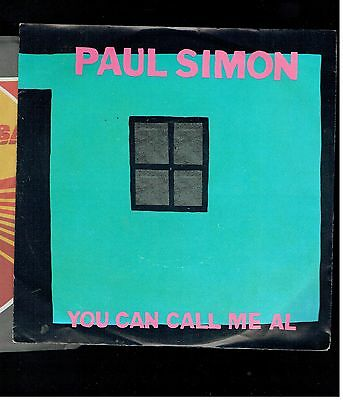 Paul Simon You Can Call Me Al/gumboots Ps 45 Germany