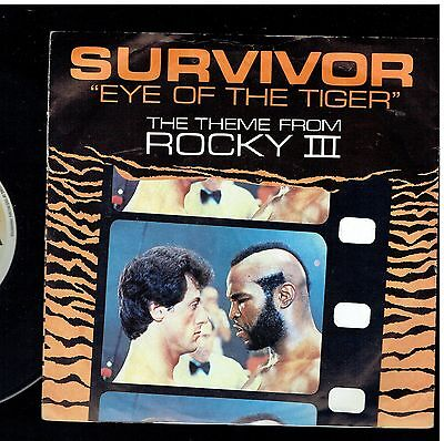Survivor Eye Of The Tiger Ps 45 1982 Theme From Rocky Iii