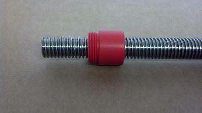 "5/8-10 Stainless Acme Leadscrew, 24"", RBC Bearing / PIC Design Lead Screw cnc"